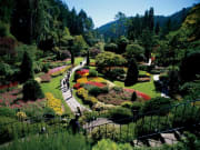 Canada_Victoria_Butchart Gardens Brentwood Day