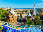 The unique architecture of Park Guell
