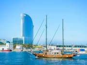 Port, barcelona, spain