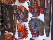Devil masks in Galle