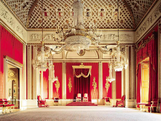 The State Rooms Buckingham Palace London