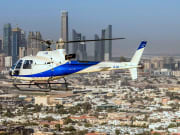 helicopter tours dubai aerial view
