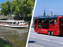 stockholm, canal cruise, bus tour