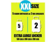 Extra large locker