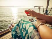 Enjoying a Cocktail on Sunset Sail 39711329_ML (Edited)