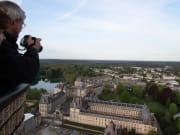 Fontainebleau hot air balloon flight, tourist