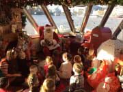 Santa Claus, River Thames, Christmas, cruise