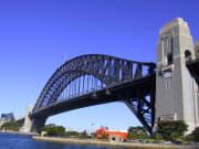 Sydney Harbour Bridge view from below