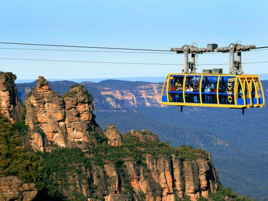 Cable car ride steepest railway australia