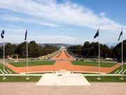 National War Memorial Canberra 4 Australian flags