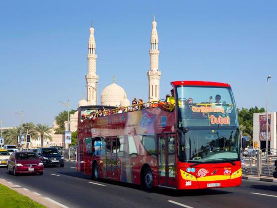 Image result for dubai city tour bus