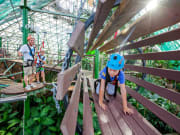 Cairns ZOOM and Wildlife Dome Ropes Course family
