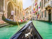 Grand Canal, Gondola Ride, Venice, Italy