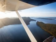 Wing over Gulf Islands