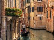 Venice Canals, Gondola Ride, Venice, Italy