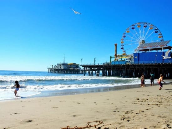 USA_California_Santa Monica Beach
