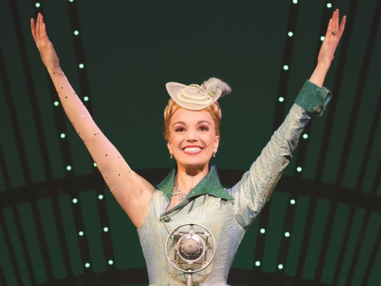 WICKED_photo_Glinda Thank Goodness_8x10_photo by Joan Marcus
