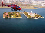 New York_Liberty Helicopters_Ellis Island