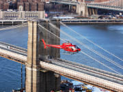 New York_Liberty Helicopters_Brooklyn Bridge