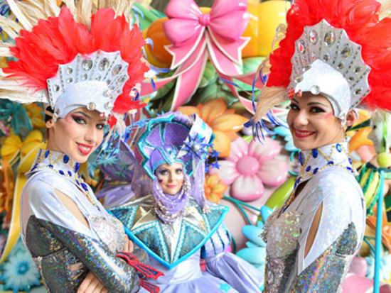 everland korea colorful parade