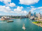 Sydney City Skyline and Opera House
