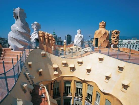 Barcelona Gaudi S Casa Mila Skip The Line Ticket With Audio
