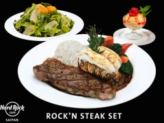 Rock'n  Steak Set Saipan
