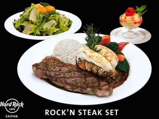 Rock'n  Steak Set Saipan