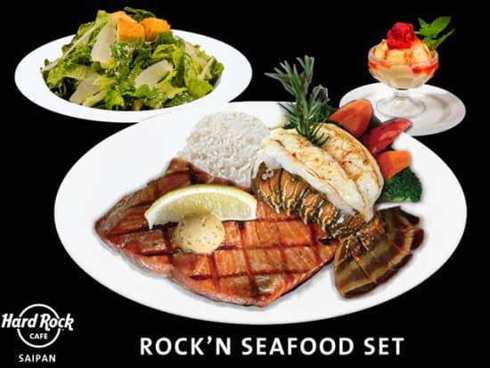 Rock'n Seafood Set Saipan