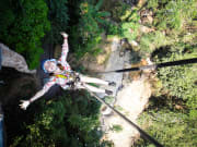 zipline adventure with massage