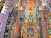 Spain Barcelona Sagrada Familia Gaudi