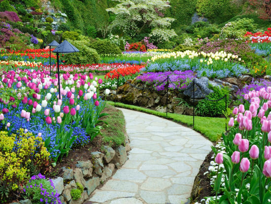 Butchart gardens day tour from vancouver fasci garden - Butchart gardens tour from victoria ...