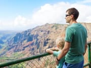 123RF_Hawaii_Kauai_Father_and_Son_Overlooking_Waimea_Canyon