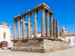 Portugal Roman Temple of Evora