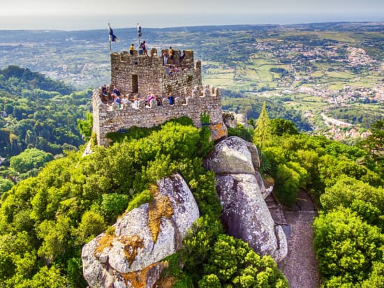 Portugal Sintra Castle of the Moors