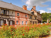 France_Normandy_Colorful_Timber_Framed_Village_Houses_shutterstock_45615913