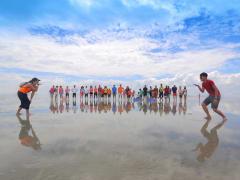 mirror in the sky kuala selangor group photo