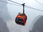 longest cable car ride tianmen mountain china