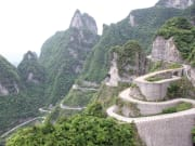 Tianmen Mountain zigzag road 99 bends