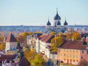 Estonia, Tallin, Cityscape