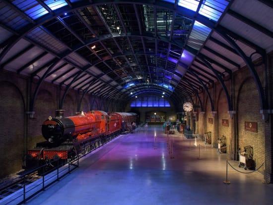 Hogwarts Express and Platform nine and three quarters