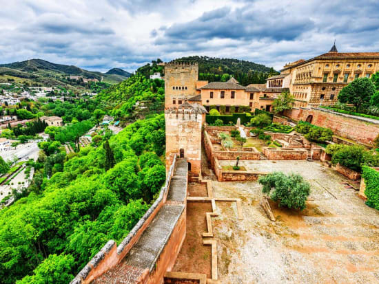 Alhambra Palace Guided Tour with Alcazaba, Nasrid Palaces