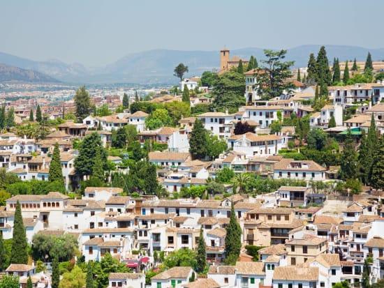Granada from Seville, Alhambra