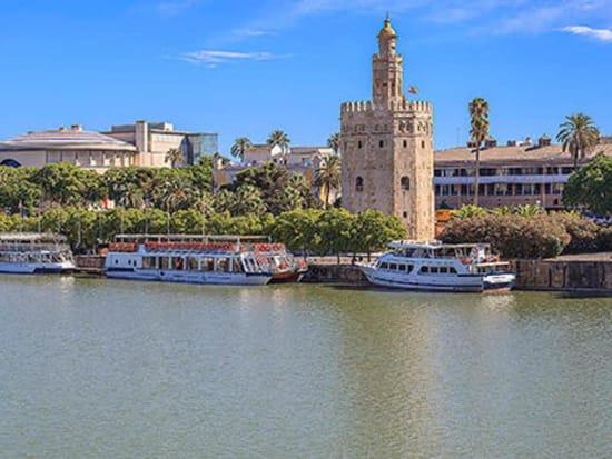 Spain, Seville, Guadalquivir River