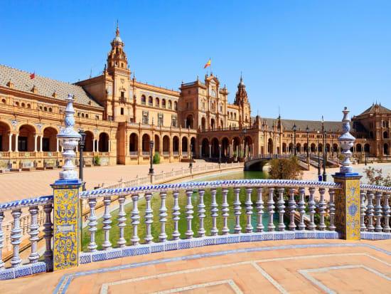 Plaza de Espana, Seville, Espana