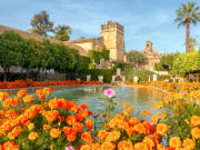 Gardens and Fountains of the Alcazara de los Reyes Cristianos - 2
