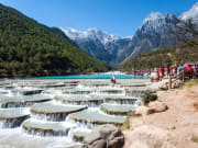 lijiang blue moon valley white and blue water