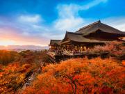 kiyomizudera autumn