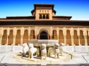 Nasrid Palaces, Alhambra, Granada, Spain