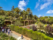 Park Guell and its tourists